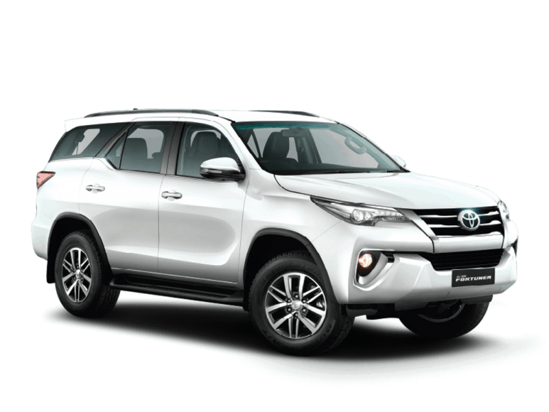 rent fortuner in goa