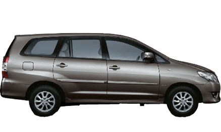 rent innova car in goa