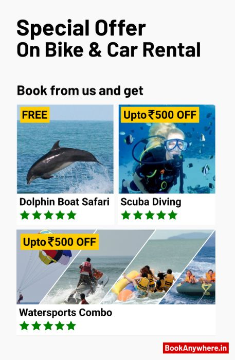 goa bike and car rental offer 2019