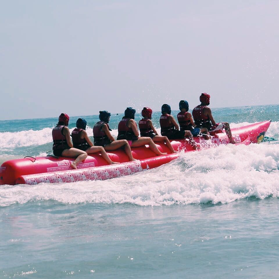 Banana Boat Ride - Activities - Things to do in Goa