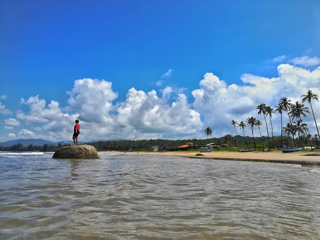 Agonda Beach - South Goa beach
